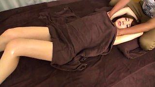 NURU SLIPPERY ASIAN Japanese Massage with SUKEBE CHAIR