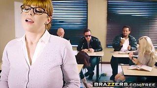 brazzers - big tits at school -  the substitute slut scene s