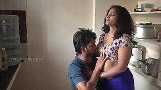 Mallu aunty molested college boy