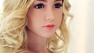 Yourdoll  Super cute blond hair sex doll