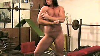 Kim Birtch Nude In The Gym