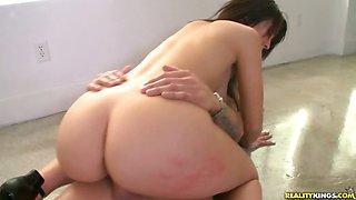 Natalie terrorizing some poor dick with her monster curves