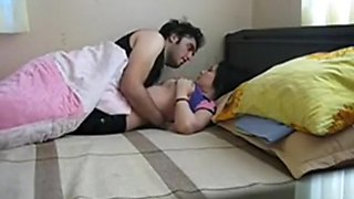 Indian brother and step-sister Home alone
