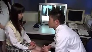doctor fuck a student in his clinic