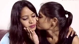 Bengali lesbians kissing