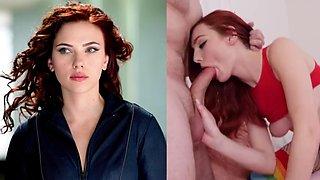 Scarlett johansson compilation and fake porn