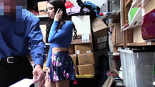 Shoplyfter- Spunky Teen Strip Searched and Fucked