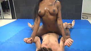Nude Mixed Wrestlers