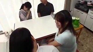 Jav busty gf fucks in front of her parents