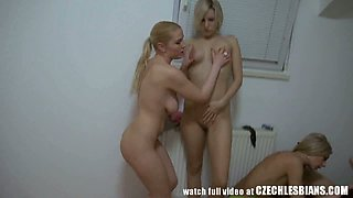 Perfect Homemade Amateur Lesbians Orgy