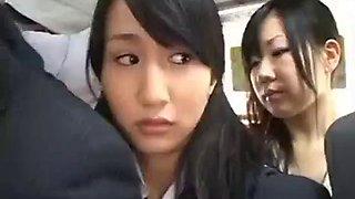 Japanese student bus