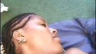 Black BBWs Lesbian Dildo Fun