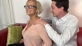 Hot German Housewife gets a massage and then some