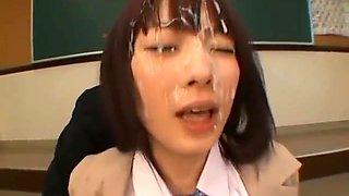 Sexy real asian school girl Mari part6
