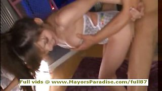 Rio innocent Chinese girl fucking and squirt