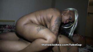 Goddess fucked tattooed freak by BBC redzilla