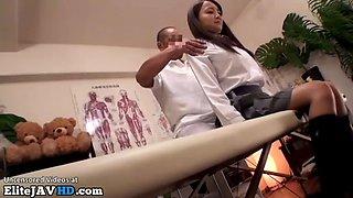 Japanese 18yo schoolgirl massage incredible ending