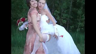 Real Naughty Young Brides!