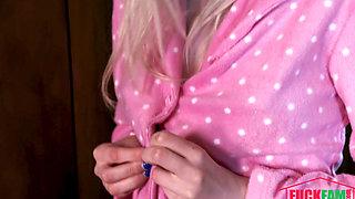 Krissy Lynn, Lexi Lore In Stepdads Cumshot Lullaby