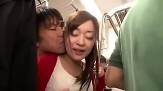 Fuck girl on the bus