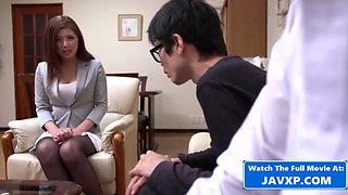 Gangbang The New Asian Teacher. Japanese JAV