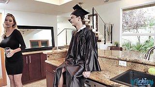 Kenzie Taylor In MILF Stepmoms Graduation Gift to Son