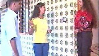 Behind the scenes video at Mallu B-grade shooting set