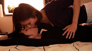 Beautiful Japanese housewife feeds her lust for cock and cum