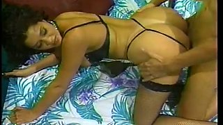 Big bottomed vintage slut gets bent over and fucked doggy style