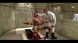 Master dominate slave girl
