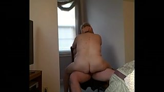 my bbw wife fucking me real good an a chair