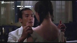 Erotic sex scene from a naughty movie with a beauty