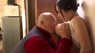 Father fucking big boob japanese step daughter