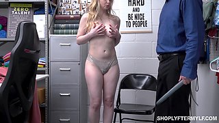 Sexy though too pale blonde MILF Sunny Lane is banged hard by dirty cop