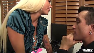 Bossy Bitch Blond Hottie Nikita Von James Does What She Wants