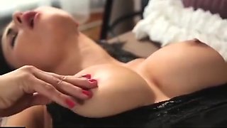 Lesbea Mature blonde explores soft and wet young pussy before 69 orgasm