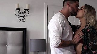 Horny shemale gets her ass fucked by TS stepsis guy friend