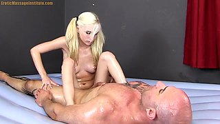 Little Piper Perri Gives Erotic Oil Massage With Fucking And Happy Ending
