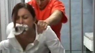 Prison guards forced