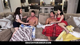 DaughterSwap - Daughters Fuck Each Others Dads