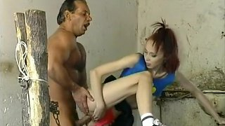 Young Tart Seduces By Dirty Old Fucker