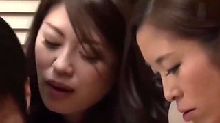 Jux-321 my three sisters come to my house for nursing my pregnant wife